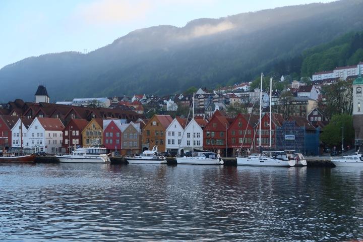 Rainy city –Bergen